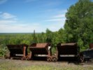 Copper mining carts