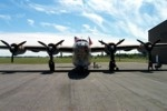 B-24 Liberator front view