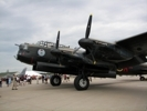 Lancaster bomber port side