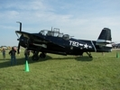 TBM Avenger side view