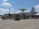 Port side of P-3 AEW aircraft